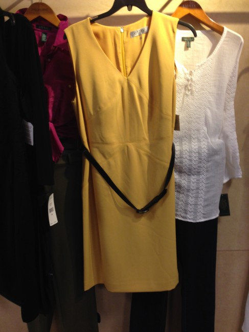 """""""Cute but it is an evening wedding and yellow feels a little too daytime."""""""