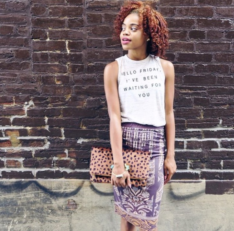 Curls for cheetah and skirt