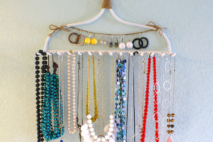 Hooked on Necklace Storage
