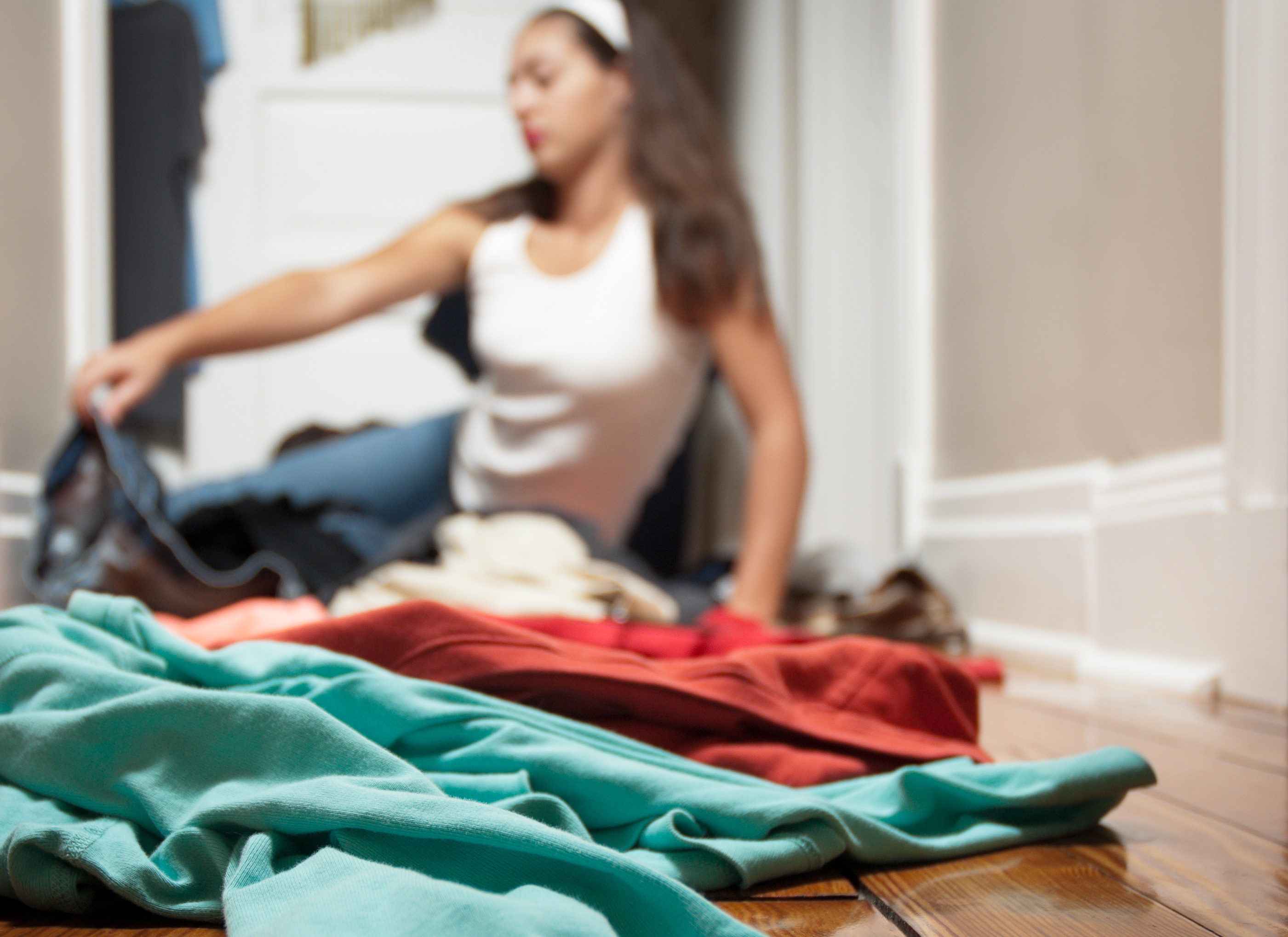 Closet Negotiations: When to Let Go