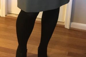 Winter Style: How to Wear Tights and Ankle Boots